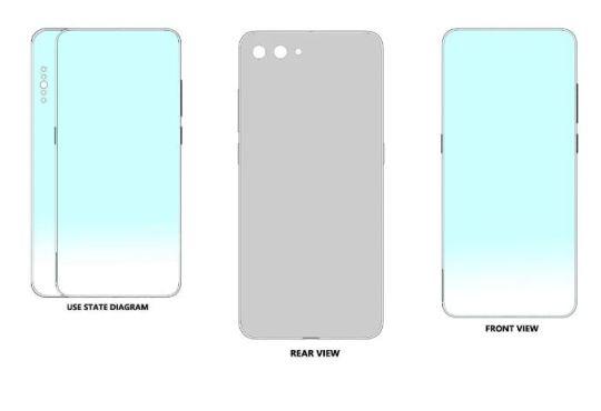 Xiaomi brevetto smartphone slider orizzontale (1)