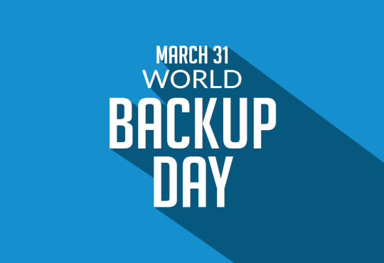 World Backup Day 2020