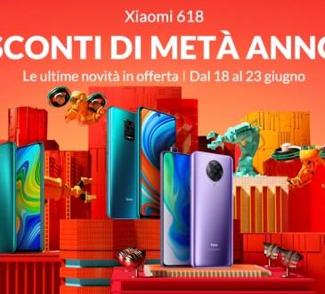 Xiaomi 618 offerte