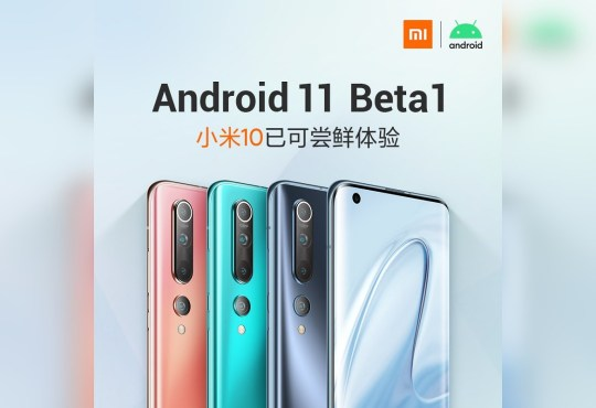 Xiaomi Mi 10 Android 11 Beta 1