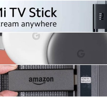 Xiaomi Mi TV Stick vs Chromecast vs Amazon Fire Stick