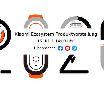 Xiaomi evento lancio Mi Band 5 Mi Stick 15 luglio
