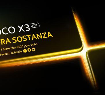 POCO X3 presentazione