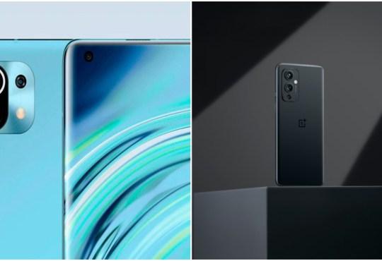 Xiaomi Mi 11 5G vs OnePlus 9