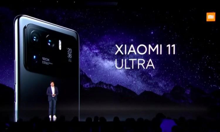 Xiaomi Mi 11 Ultra presentazione