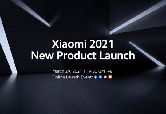 Xiaomi evento presentazione 29 marzo 2021