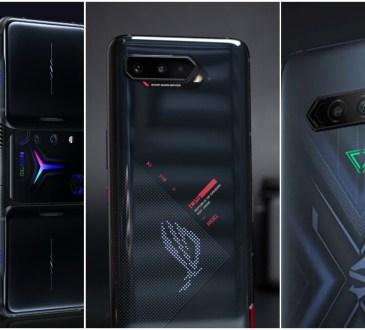 Lenovo Legion Phone Duel 2 vs Asus ROG Phone 5 vs Black Shark 4 Pro