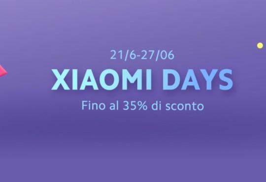 Offerte Xiaomi Days