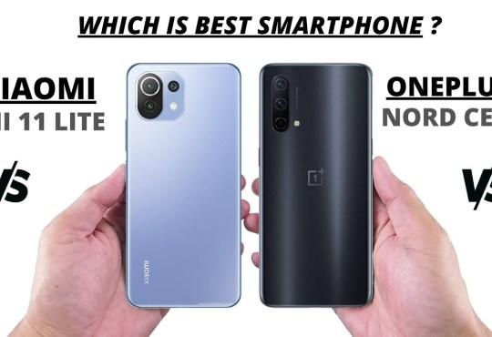 Xiaomi Mi 11 Lite 5G vs OnePlus Nord CE 5G