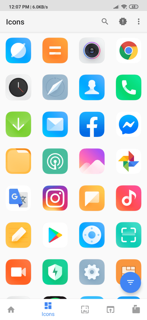 Download MIUI 11 Launcher, MIUI 11 Icon Pack, MIUI 11 Seach
