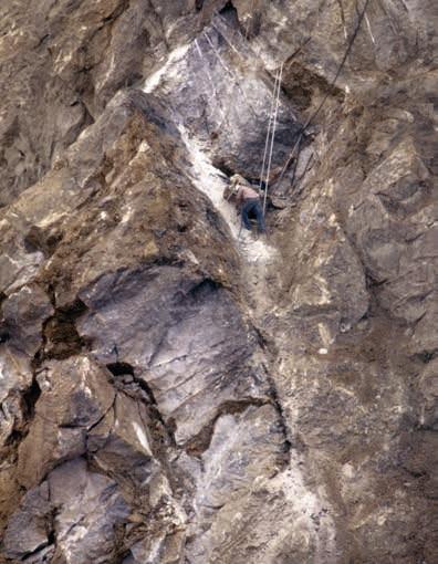 Cava del Monticino, anni 80