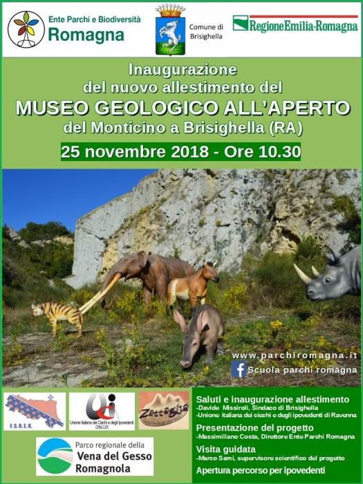 Inaugurazione Museo Geologico Monticino