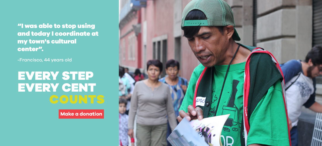 Make a donation to a mexican ngo
