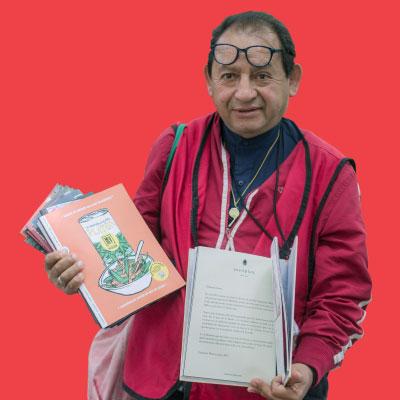 Valedor del mes: Arturo Gallegos