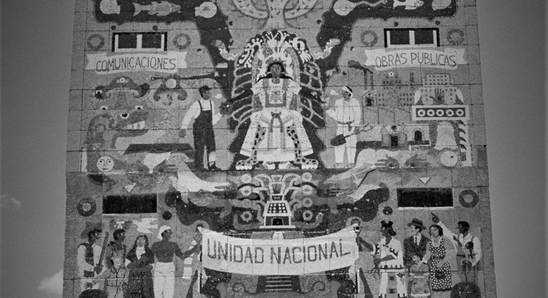El muralismo como proyecto de Estado. Fotografía de Carlos Candia