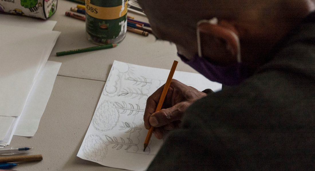 Taller de creación y contenido. Reflexionar y dibujar el maíz