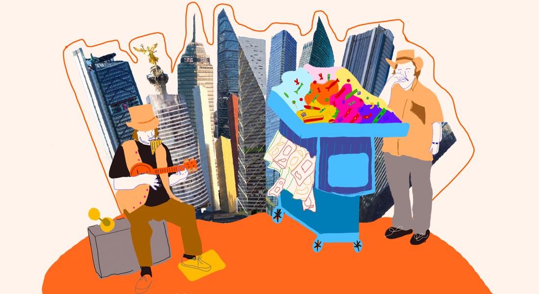 La multa. Ilustración de Sofía Fernández Castelló
