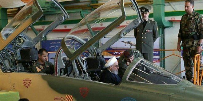 """איראן חושפת את מטוס הקרב """"קווסאר"""" מייצור עצמי"""