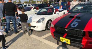 מאות בביקור מועדון קבריולט ישראל בשדרות – צפו בגלריה