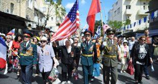 יום הניצחון על הנאצים: אלפים השתתפו במצעד הווטרנים בחיפה