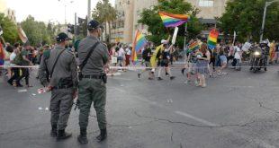 מצעד הגאווה בירושלים בהשתתפות אלפים הסתיים ללא חריגים
