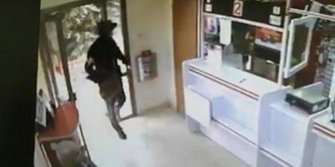 תיעוד: שוד בסניף בנק הדואר ברחוב טרומפלדור בנהריה