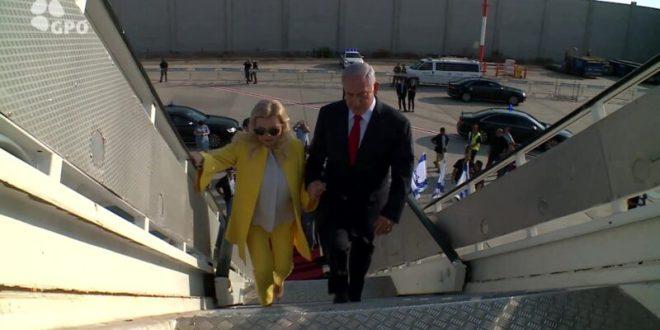 תקרית בטיסה לאוקראינה: שרה נתניהו דרשה להיכנס לתא הטייס