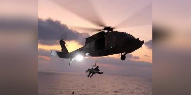 צנחן רחיפה התרסק על צלע הר ליד ארסוף ונפצע בינוני – צפו בחילוץ