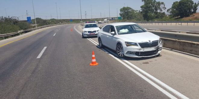 חשד: נקלט במהירות מופרזת, נמלט משוטרים וגרם לתאונת דרכים