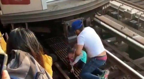 דרמה בניו יורק: גבר קפץ עם בתו על פסי הרכבת, הילדה שרדה