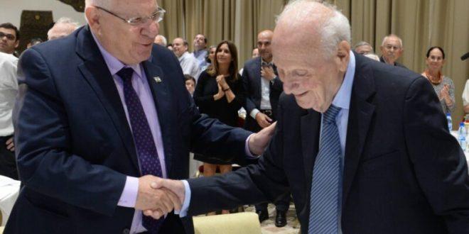 """נשיא העליון לשעבר מאיר שמגר הלך לעולמו, """"מגדולי השופטים"""""""