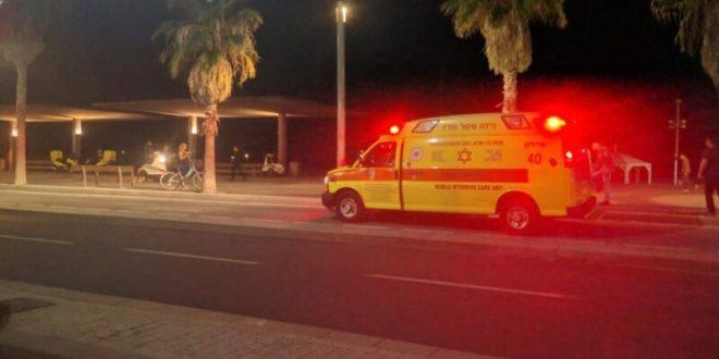 בן 67 טבע למוות בחוף ירושלים בתל אביב