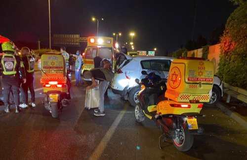 WhatsApp-Image-2021-05-08-at-22.28.52-500x325 צעירה בת 22 נפצעה בינוני בתאונת דרכים בכביש 4 סמוך למחלף מסובים