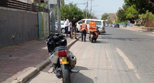 WhatsApp-Image-2021-05-10-at-15.26.46-500x270 רוכב אופנוע בן 20 נפצע בינוני בתאונת דרכים באשקלון