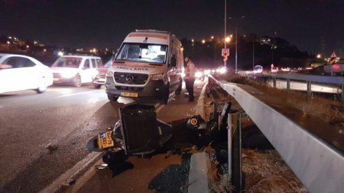 WhatsApp-Image-2021-05-11-at-22.36.57-500x281 רוכב אופנוע נפצע קשה בתאונת דרכים בכביש 1 לכיוון מעלה אדומים