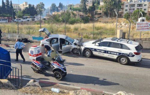 WhatsApp-Image-2021-05-16-at-18.07.59-500x316 פיגוע הדריסה בירושלים: 2 במצב קל - בינוני ו-4 נוספים במצב קל בלבד