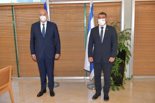 "WhatsApp-Image-2021-05-18-at-16.58.18-500x333 שר החוץ למקבילו היווני: ""ביקורך עדות ליחסים הקרובים בין המדינות"""