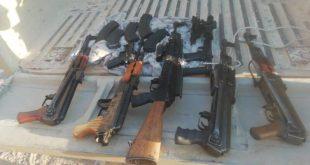 10 רובי קלצ'ניקוב, חמישה רובי צלפים, שני רובי M16 וארבעה אקדחים שיועדו...