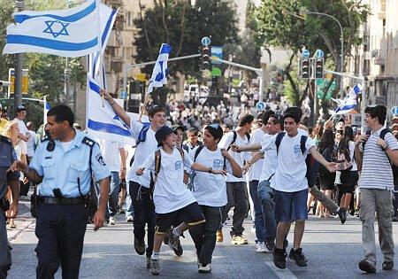 המשטרה השלימה את היערכותה לקראת מצעד הדגלים שיתקיים בירושלים