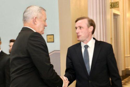 "WhatsApp-Image-2021-06-03-at-18.05.29-500x334 שר הביטחון גנץ נפגש עם היועץ לביטחון לאומי של ארה""ב"