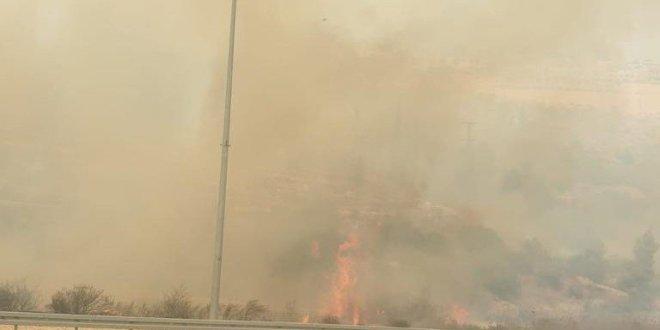 השריפה סמוך למבשרת ציון: עשרה מטוסי כיבוי הוזנקו לזירה