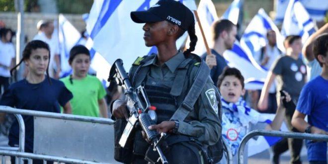 """""""מצעד הדגלים"""" בירושלים הסתיים, 17 חשודים בהפרת סדר נעצרו"""