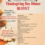 Ukrainian Cultural Center Thanksgiving Dinner