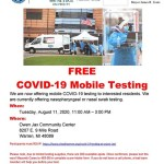 Free COVID-19 Testing for Warren Residents