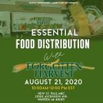 Forgotten Harvest Food Distribution at New St. Paul MBC