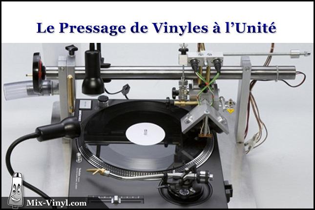 pressage vinyle