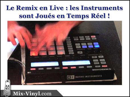 live remix