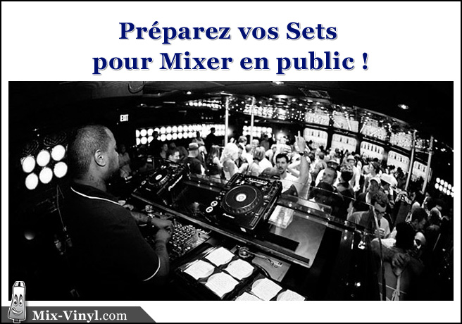mixer en public