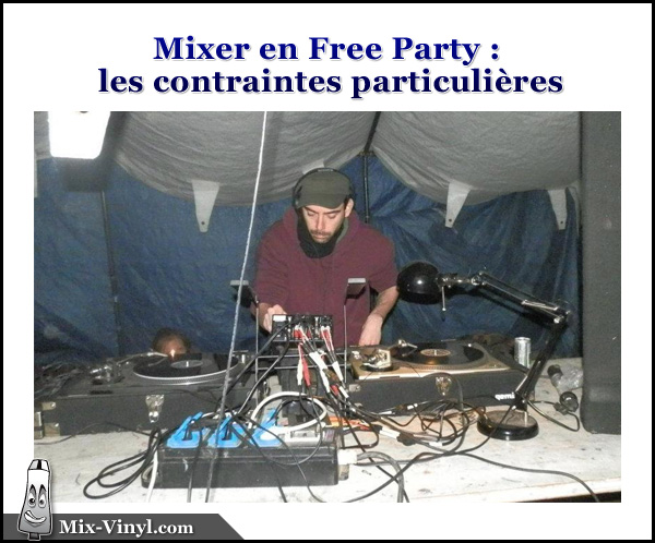 Mixer en Free Party