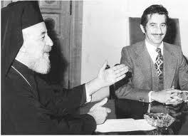 Ο Παπαδόπουλος με τον Μακάριο